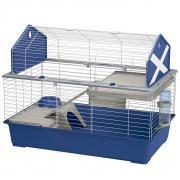 Клетка для кроликов FERPLAST Barn 100 синяя 96х57х73см