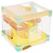 Клетка для мелких животных TRIOL Парк приключений, эмаль 27,5х20,5х42,5см