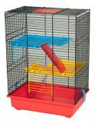 Клетка для дегу, крыс, мышей, хомяков INTER-ZOO 51х25х37см