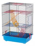 Клетка для крыс, мышей, хомяков INTER-ZOO 51х25х37см