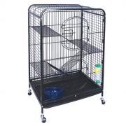 """Клетка для мелких животных """"Triol"""", на колесиках, 64 см х 43,5 см х 92,5 см"""