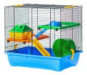 Клетка для крыс, мышей, хомяков INTER-ZOO 43х38.5х28см