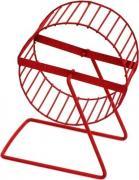 Беговое колесо для хомяков, мышей ZooMark металл, 12 см