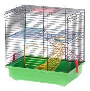 Клетка для грызунов INTER-ZOO 38.5х25х37см