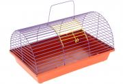 Клетка для грызунов ZooMark, полукруглая, 36х24х22см