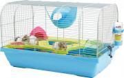 "Клетка для грызунов Savic ""Bristol"", цвет: серебристый, голубой, 59 х 38 х 30 см"