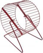 Беговое колесо для хомяков, мышей ZooMark металл, 16 см
