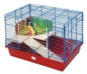 ЗООМАРК 60х40х41 клетка для кроликов 2-х этажная комплект