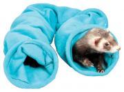 Тоннель для грызунов Midwest текстиль, 12х102 см, цвет голубой