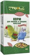Корм для птиц Triol Экстра для мелких и средних попугаев 500г