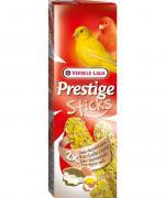 Лакомство для птиц VERSELE-LAGA Prestige палочки для канареек с яйцом и ракушечником 2х30г