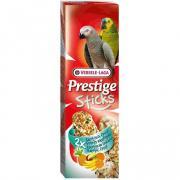 Лакомство для птиц VERSELE-LAGA Prestige палочки для крупных попугаев, с экзотическими фруктами 2х70г