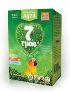 "Альпийские луга Травка ""7 трав"" для птиц (лоток), набор для проращивания (60 г)"