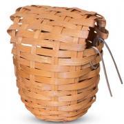 Гнездо-корзина для птиц TRIOL из лозы, d90х100мм