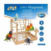 DUVO+ Игровая площадка для малых птиц деревянная