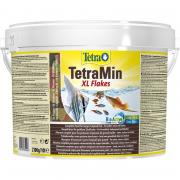 Корм для рыб TETRA TetraMin XL для всех видов рыб, крупные хлопья 10 л (ведро)