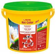 Корм Sera KOI COLOR Mini для яркой окраски кои, мелкие гранулы 3,8 л