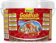Tetra GoldFish основной корм для золотых рыбок, хлопья 10 л
