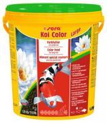 Корм Sera KOI COLOR Large для яркой окраски кои, крупные гранулы 5,8 л