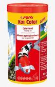 Корм Sera KOI COLOR Large для яркой окраски кои, крупные гранулы 1 л