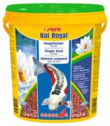 Корм основной Sera KOI ROYAL ST large для кои свыше 25 см, гранулы 21 л