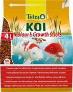 TetraPond KOI Color&Grouth Sticks энергетический корм для карпов кои, палочки 4 л