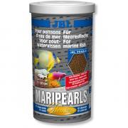 Корм премиум JBL MariPearls для морских рыб, гранулы 1 л