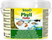 TetraPhyll основной корм для травоядных рыб, хлопья 10 л