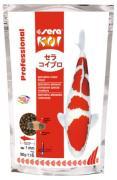 Корм основной Sera KOI Prof. Spirulina Color для яркой окраски и роста рыб, 0,5 кг
