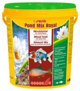 Корм Sera MIX ROYAL для прудовых рыб, смесь 21 л