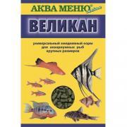 """Аква Меню """"Великан"""" корм для крупных рыб, 40 гр"""
