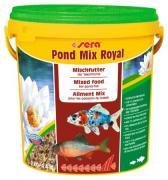 Корм Sera MIX ROYAL для прудовых рыб, смесь 10 л