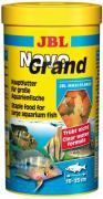 Основной корм JBL NovoGrand для больших пресноводных аквариумных рыб, хлопья 1 л