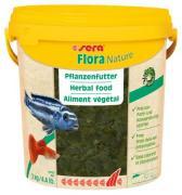 Растительный корм Sera FLORA NATURE для рыб, хлопья 10 л