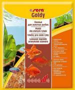 Основной корм Sera GOLDY для мелких золотых рыб, хлопья 12 г