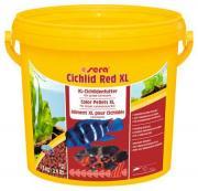 Основной корм Sera CICHLID RED XL для крупных плотоядных цихлид, гранулы 3,8 л
