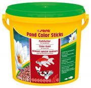 Корм Sera COLOR STICKS для яркой окраски прудовых рыб, гранулы 3,8 л