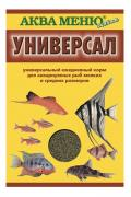 Корм для рыб Аква Меню Универсал, хлопья, 30 г