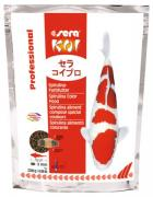 Корм основной Sera KOI Prof. Spirulina Color для яркой окраски и роста рыб, 2,2 кг