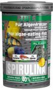 Основной корм JBL Spirulina премиум для растительноядных рыб, хлопья 1 л