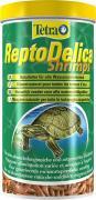 TetraReptoDelica Shrimps специальный корм для черепах (100% креветки), палочки 1 л