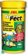 Корм JBL NovoFect для растительноядных рыб и креветок, таблетки 250 мл