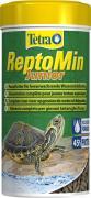 Основной корм TetraReptoMin Junior для молодых водных черепах, мини палочки 250 мл