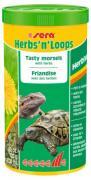 Корм Sera HERBS'n'LOOPS для рептилий, 1 л
