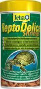 TetraReptoDelica Shrimps специальный корм для черепах (100% креветки), палочки 250 мл