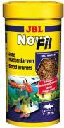 Сушеный мотыль JBL NovoFil для привередливых рыб и черепах, 250 мл