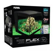 Аквариум Fluval Flex изогнутое стекло, 390х390х415 мм, 57 л