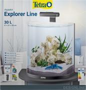 Tetra AquaArt Explorer Line Crayfish аквариумный комплект, «Полумесяц», 30 л