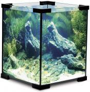 Аквариум для рыб Laguna Crystal, черный, 18 л