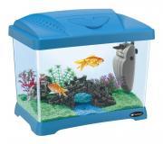 Аквариум для рыб, рептилий Ferplast Junior, бесшовный, голубой, 21 л